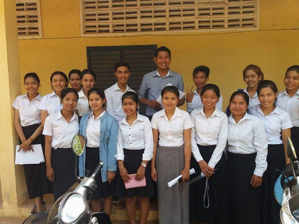 College Scholarships for Young Women in Cambodia