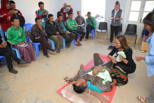 Area Co-Ordinator training workshop