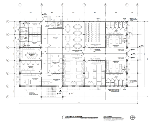 Ground floor plans for new Training Centre