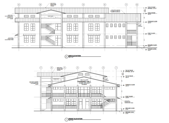 Architectural design for new Training Centre