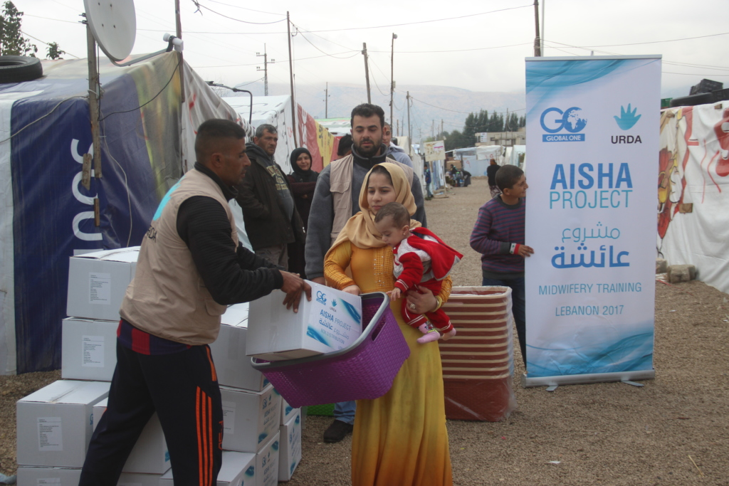 Box for Life for Syrian Refugee Mothers