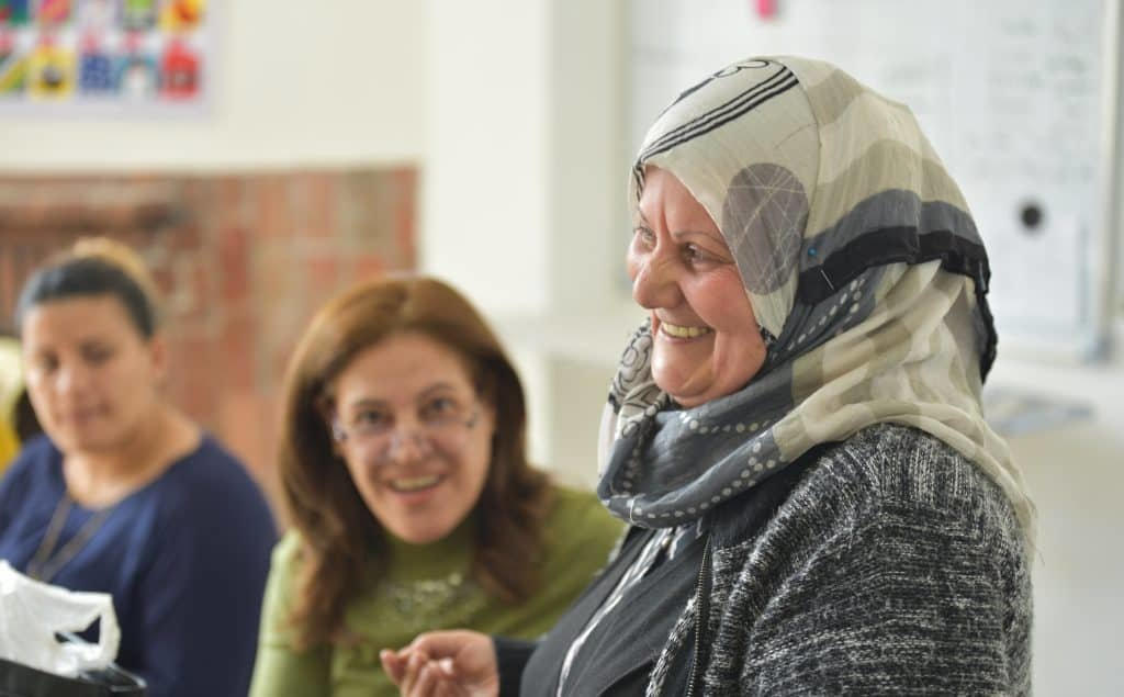 Feeling optimistic at the Hope Workshop in Amman