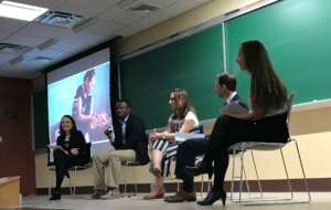 Sharing stories of refugees with American students
