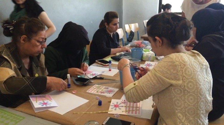 Train and Empower 50 Refugee Women in Jordan