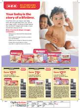Kimberly-Clark Huggies Coupons (PDF)
