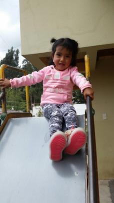 Having fun at play time