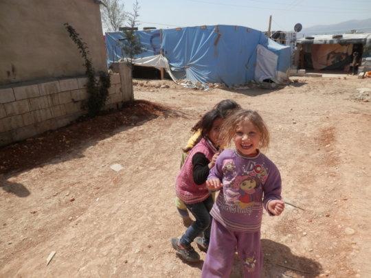Children living as refugees from Syria in Jordan 2