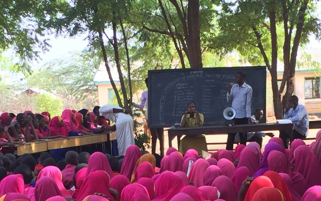 Enable Coaches @Dedaab Refugee Camp to Continue