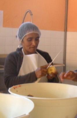 Maria Preparing the Fruit