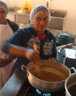 Josefa Keeping the Marmalade from Burning