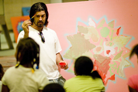 Teaching arts to 28,000 students in Los Angeles