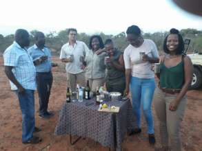 The Chief (2nd from left) and the Rest of Us