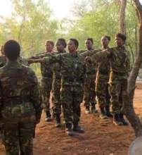 Black Mambas preparing for patrol