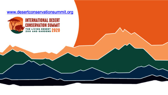 International Desert Conservation Summit logo
