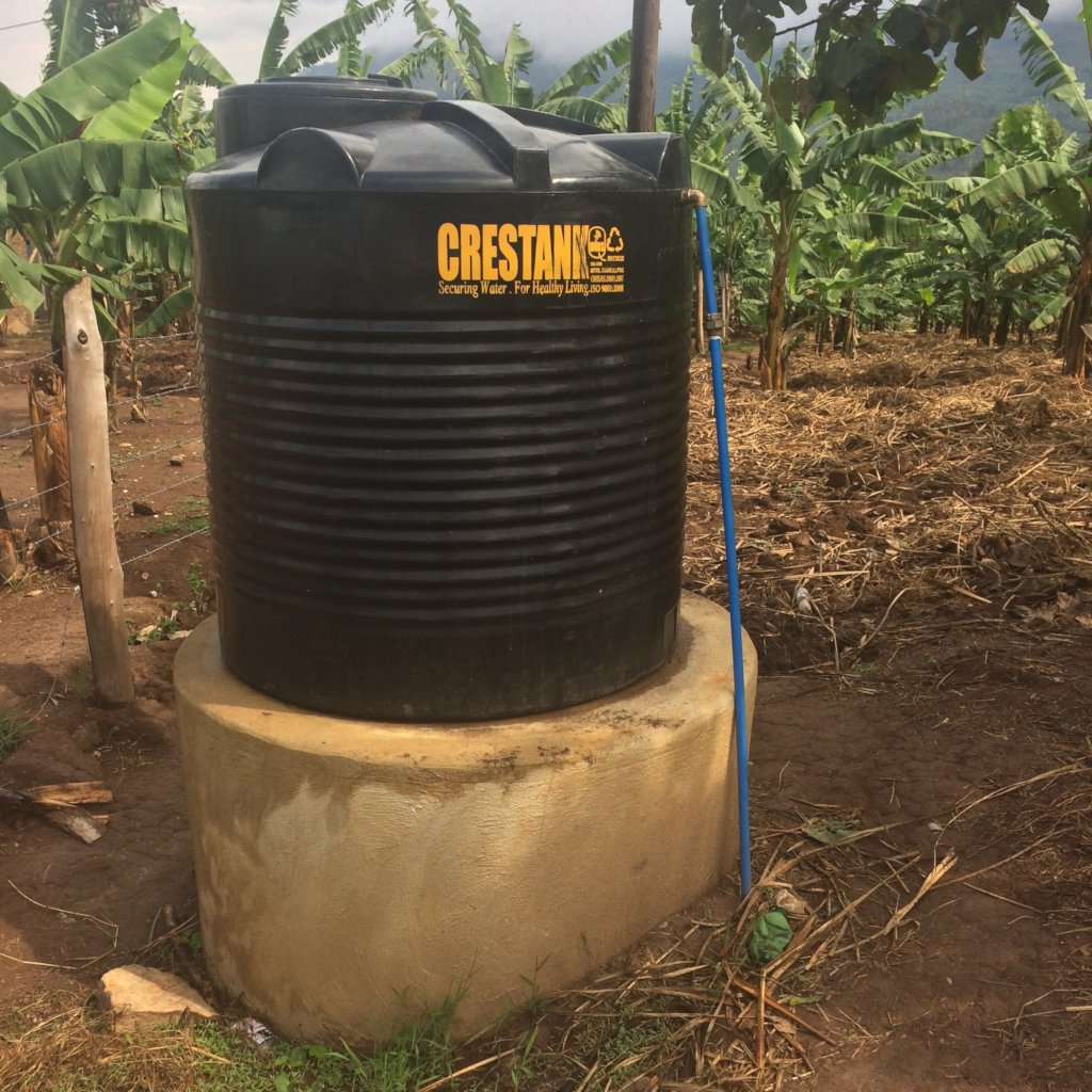 Water tank at St Benedict