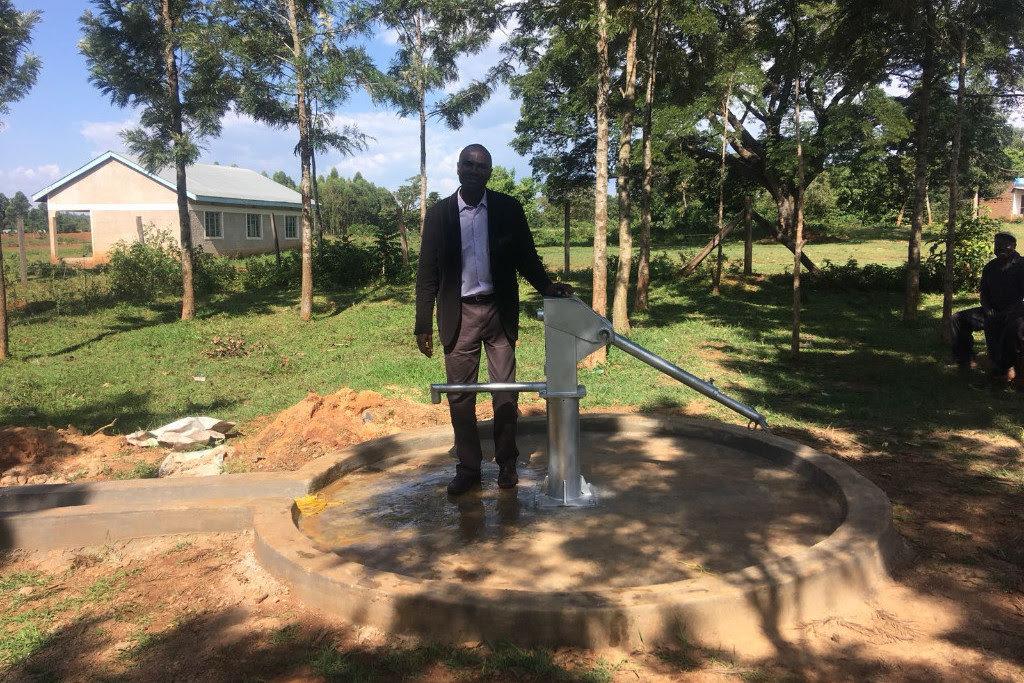New water pump at St Michael