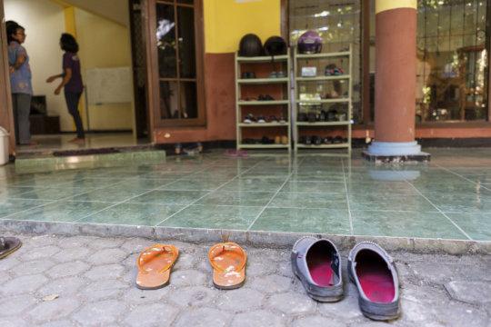 Entering Grace House