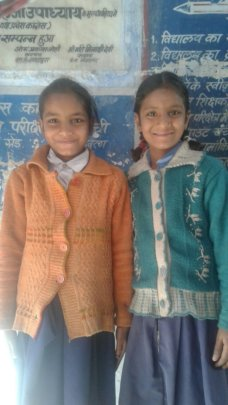 Vinita and Varsha are happy to get back to books!