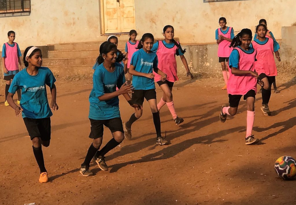 Peer Soccer Empowers at-risk Girls in India