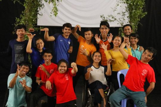 IAC group photo