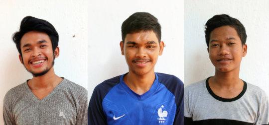 IAC Students : Nathann, Cholsa, Vichet