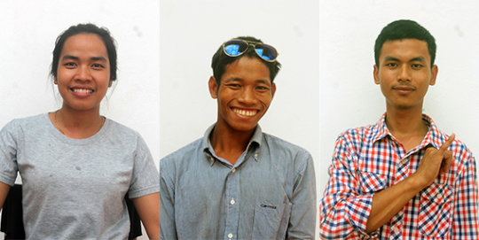 New students - Malis, ChanDoeb & Ly