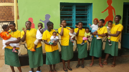 Teen mothers & their babies ready for reintegratio