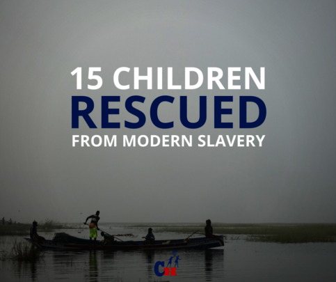 Our rescue team returned with 3 girls and 12 boys