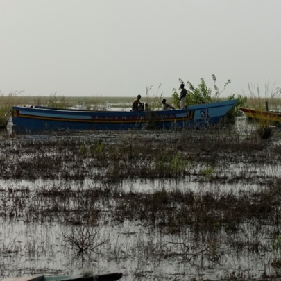 Rescue team is out on Lake Volta