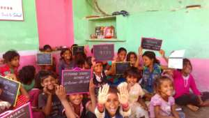 Provide Education Stuff To School Child in India