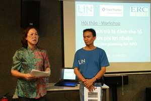 Speaker@Succession Planning Workshop for NPOs