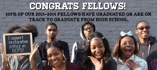 Fellowship students graduate