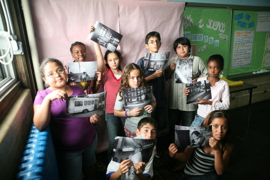 Students With Their Photos