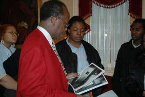 Showing Photos to Legislators