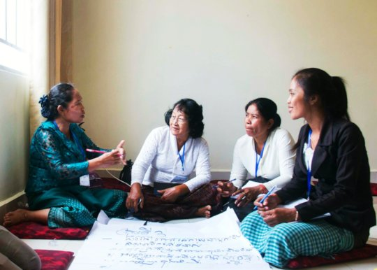 Help Cambodians end family and community violence