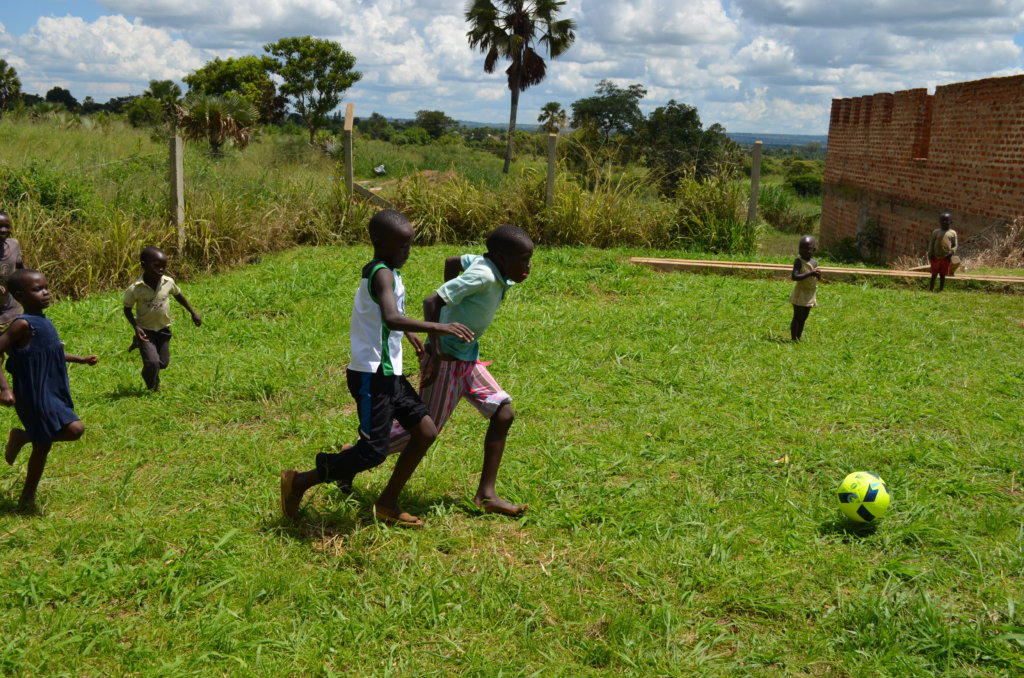 35 Young Boys Using Football To Improve Health