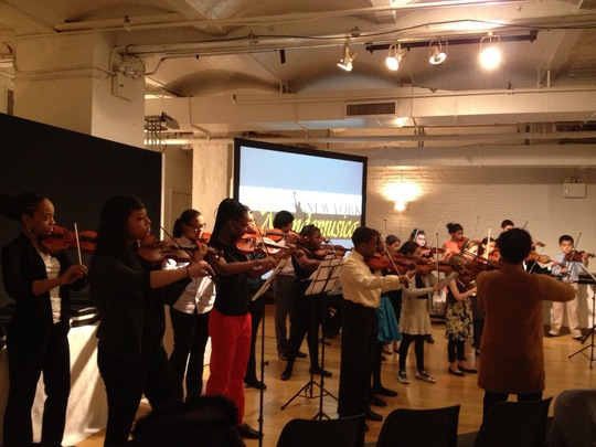 Opus 118 Honored at Mondomusica New York