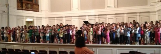 Opus 118 End-of-Year Concert Dress Rehearsal