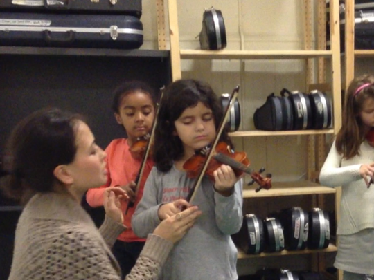 Intro to Violin Students