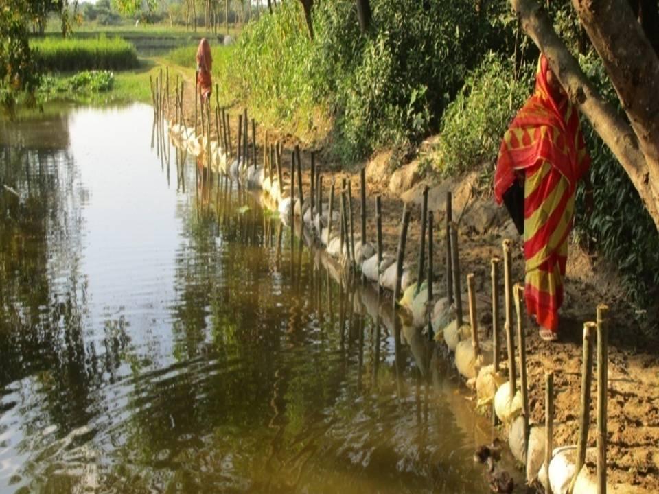 Chousha village - Aisl making after