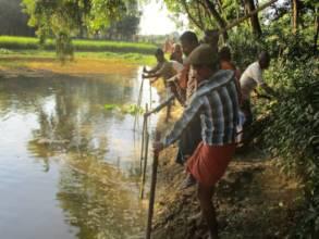 Chousha village - Aisl making before