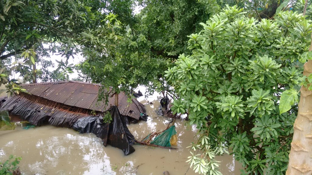 Relief & Rehab. for families in flood hit area
