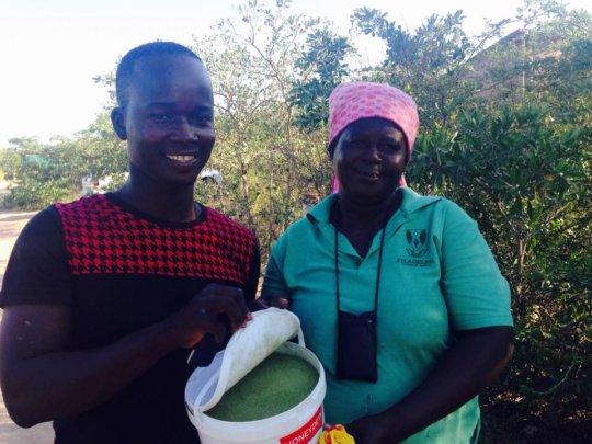 Creating Entrepreneurship By Processing Moringa