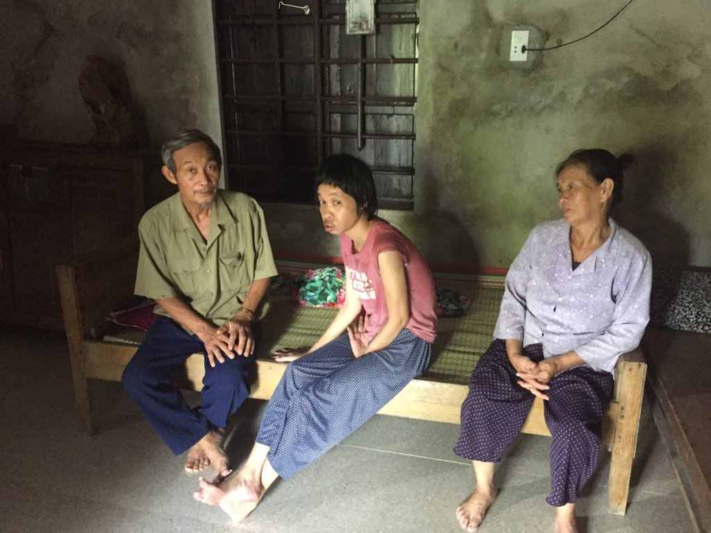 Support a Family Poisoned by Agent Orange