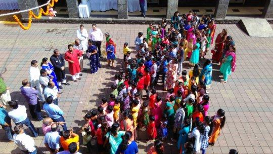 Celebraing Dahi Handi