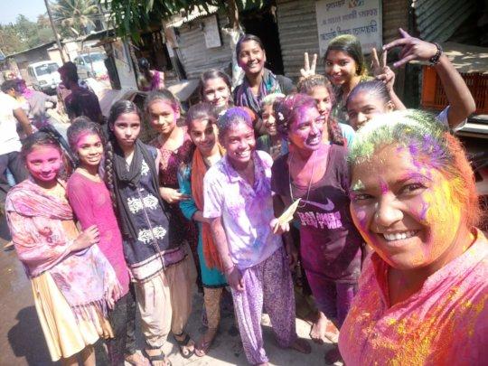 Celebrating Holi Festival