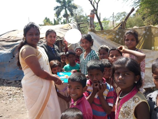 Teaching children where they live