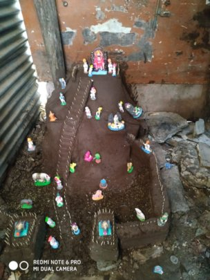 Clay fort making competion