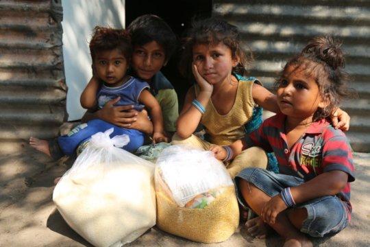 Distribution of ration