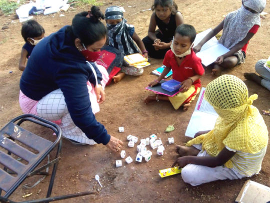 Classes held at their slum areas